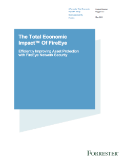 Forrester : L'impact économique total de FireEye Network Security